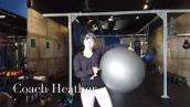 5 Moves: Stability Ball Exercises for Core Muscles- Coach Heather