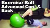 Exercise Ball for Core \u0026 Back Strengthening (Advanced) - Ask Doctor Jo