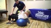 Physical Therapy Exercises for Seniors: Ball Exercises - 24Hr HomeCare