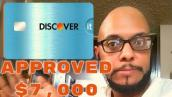 I got approved for the Discover It Credit Card 5% Cashback Match