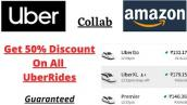 UBER - Get 50% Discount on all rides | Cab/auto/bike | 2021 Offer