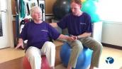 Workout Wednesday: Stability Ball Balance Exercise for Seniors