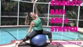 Stability Ball Abs \u0026 Core Workout -- On the Ball: 20-Minute Core Stretching Routine
