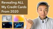 Revealing ALL Of The Credit Cards I Got This Past Year
