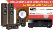Giải trí cùng bộ Dàn Nghe Nhạc, Xem Phim 5.1 Âm thanh Vòm Chuẩn Dolby TrueHD - Giá 20tr++