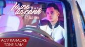 Karaoke | Lá Xa Lìa Cành - Lê Bảo Bình | Beat Tone Nam
