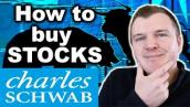 How to Buy Stocks with Charles Schwab