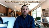 Chase Sapphire Reserve vs Amex Platinum - 2020 COMPLETE Comparison of All Benefits!