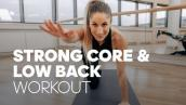 7-Minute Core \u0026 Low Back Strengthening Workout to Get Rid of Back Pain